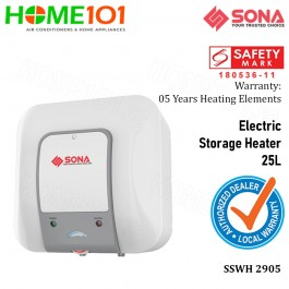 Sona Electric Storage Water Heater 25L  SSWH2905