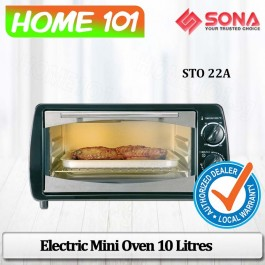 Sona Mini Oven 10L W/Temp Up to 250 Degree STO 22A