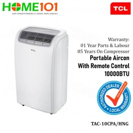 TCL Portable Aircon 10000BTU TAC-10CPA/HNG (STOCK ARR ON EARLY JUNE)