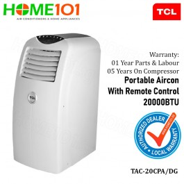 TCL Titan Gold Series Portable Aircon 20000BTU TAC-20CPA/DG  (STOCK ARR ON MID MAY)