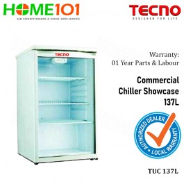 Tecno Commercial Cooler Showcase 137L  TUC 137L