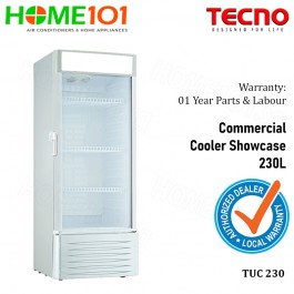 Tecno Commercial Cooler Showcase 230L TUC 230
