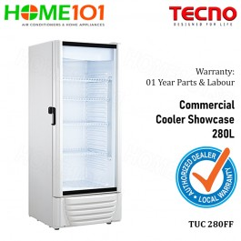 Tecno Commercial Cooler Showcase 280L TUC 280FF