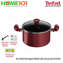 Tefal So Chef Stewpot with Lid 22cm G13545
