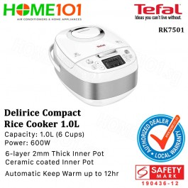Tefal Delirice Compact Rice Cooker 1.0L RK7501