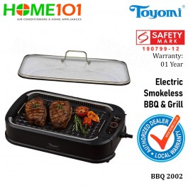 Toyomi Electric Smokeless BBQ and Grill BBQ2002