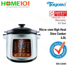 Toyomi Micro-com High Heat Stew Cooker 4.0L HH 6080