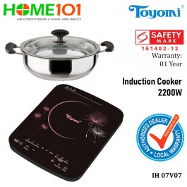 Toyomi Induction Cooker 2200W IH 07V07
