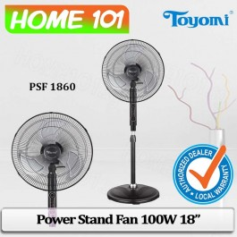 Toyomi Power Stand Fan 100W 18 inch PSF1860