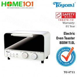 Toyomi Electric Oven Toaster 800W 11L TO 4711