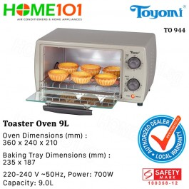 Toyomi Toaster Oven 9L TO 944