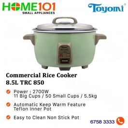 Toyomi Commercial Rice Cooker 8.5L TRC 850