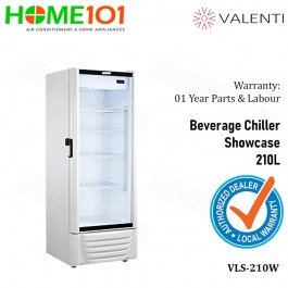 Valenti Beverage Chiller Showcase 210L VLS-210W