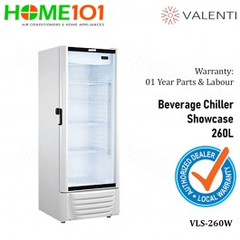 Valenti Beverage Chiller Showcase 260L VLS-260W