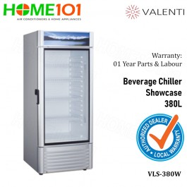Valenti Beverage Chiller Showcase 380L VLS-380W