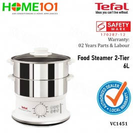 Tefal Stainless Steel Convenient Steamer VC1451